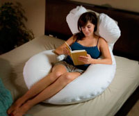 Total Body Support Pillow.New Moonlight Slumber Comfort U Total Body Support Pillow