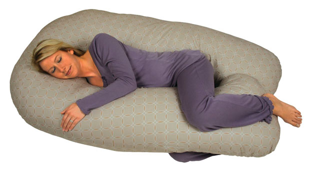 Leachco Back 'N Belly Chic Pillow